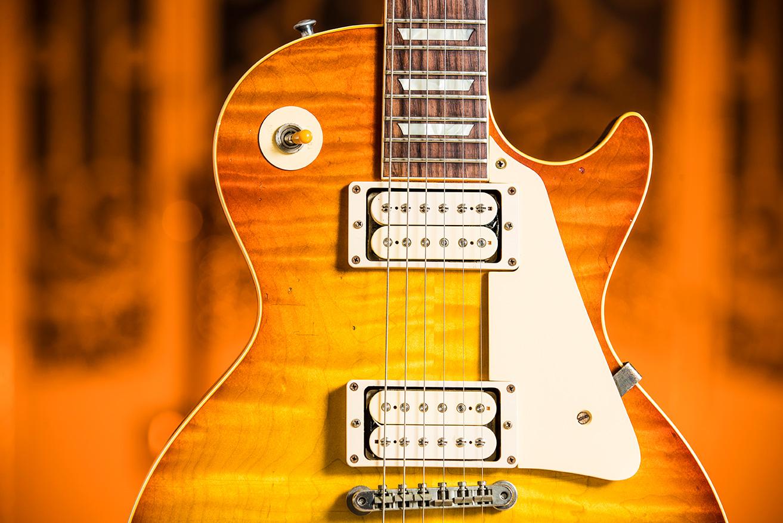 Datant Gibson Custom Shop guitares